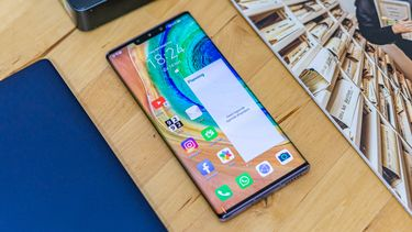 Huawei Mate 30 Pro voorkant