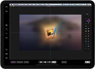 Pixelmator macOS cataline sidecar 001