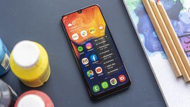 Samsung Galaxy A50 review uitgelicht