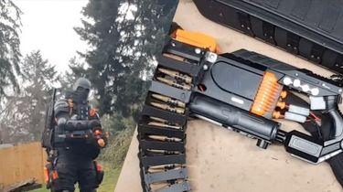 Nerf minigun