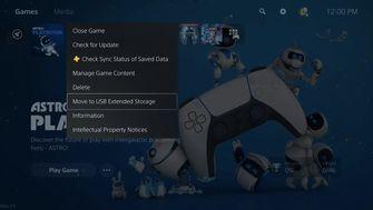 PS5 opslag