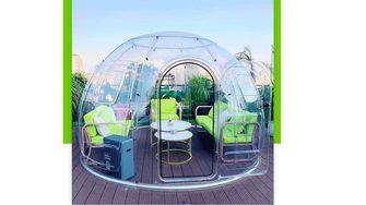 tuinhuis dome