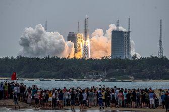 China Tianhe ruimtestation