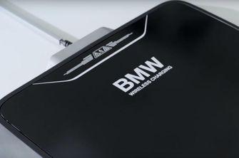BMW draadloos opladen elektrische auto