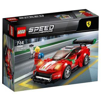 "2018 LEGO Speed Champions - Ferrari 488 GT3 ""Ferrari Corsa"""