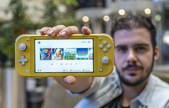 Nintendo Switch Lite uitgelicht