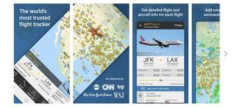 Flightradar 24 Android app vakantie
