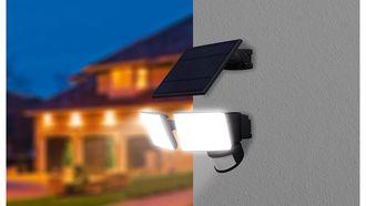 LED-schijnwerper solar Lidl