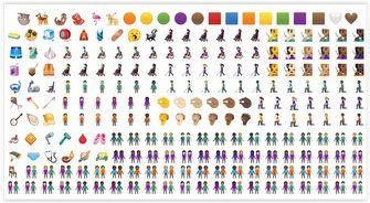 Google Android Q Emoji