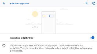 Adroid Pie Adaptive Brightness
