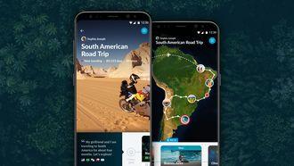 Polarsteps Android app