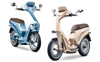 Ujet elektrische scooter