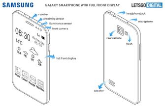 Patent Display Samsung Galaxy S10