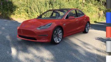 Tesla Model 3 ARKit app