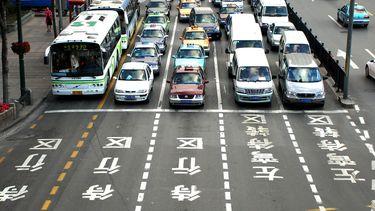 enorm aantal auto's reden voor elektronische autorevolutie