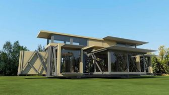 Ten Fold opvouwbaar huis