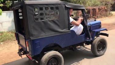 DIY Mini Jeep elektrische auto