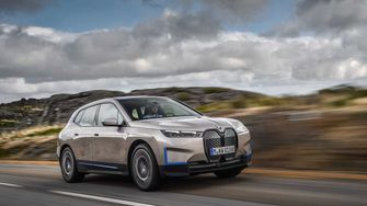 BMW iX EV elektrische auto