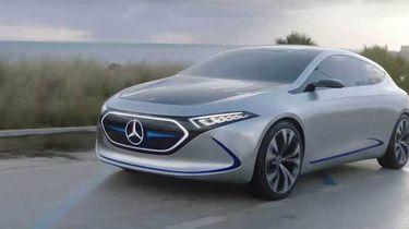 Mercedes EQA elektrische auto