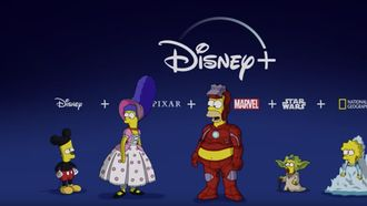 Simpsons Disney+
