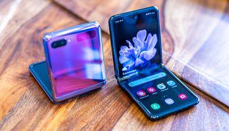 Samsung Galaxy Z Flip vouwbaar scherm