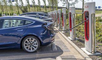 Tesla Model 3 review supercharger