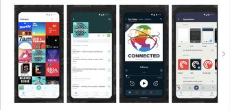 Pocket Casts voor Android Auto