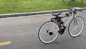 Elektrische fiets staan