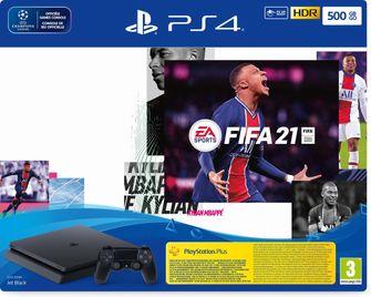 PlayStation 4 FIFA 21 spelcomputer black friday