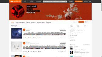Billie Eilish op Soundcloud