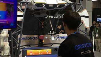 CES 2020 robot