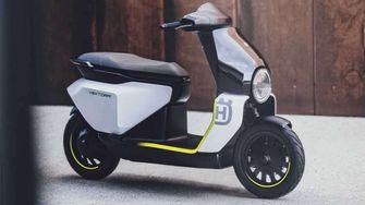 Vektorr Concept elektrisch voertuig scooter