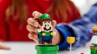 LEGO Super Mario Luigi