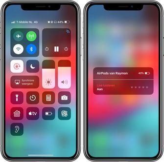 iOS 12 AirPods