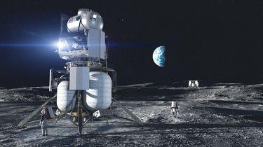 NASA Blue Origin maanlander