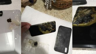 iphone XS Max explosie