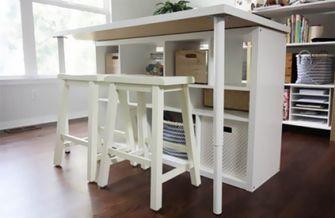 Ikea hack werktafel