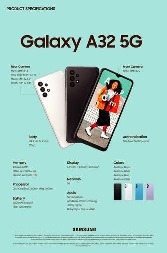 Samsung Galaxy 5G smartphone