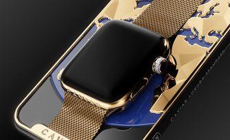 iPhone XS / Apple Watch goud