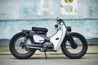 Honda Super Power Cub custom Super Cub