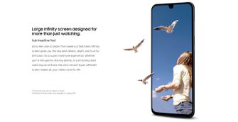 Samsung Galaxy A90 notchless infinity screen