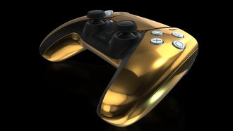 PlayStation 5 goud