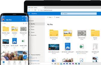 Microsoft Onedrive Google Foto's