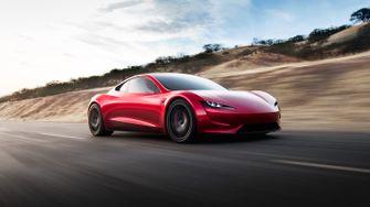 Tesla Roadster elektrische auto
