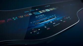 Mercedes EQS Hyperscreen