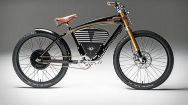 Vintage Electric e-bike scrambler
