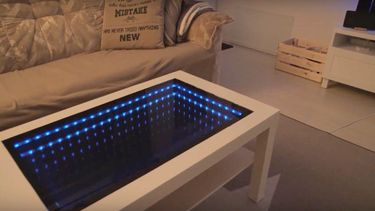 Ikea hack salontafel