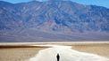 Death Valley temperatuur