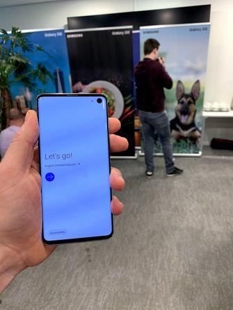 Samsung onthult Galaxy S10