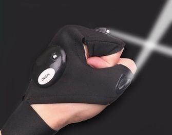 handschoen LED